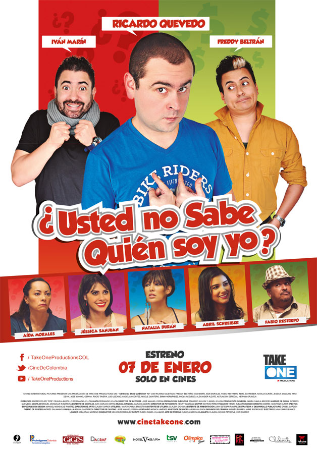 Usted no Sabe quien soy Yo